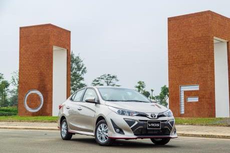 Doanh số bán ô tô Vios tại Việt Nam tăng gần 290%