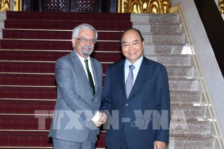 Thủ tướng Nguyễn Xuân Phúc tiếp Điều phối viên thường trú Liên hợp quốc tại Việt Nam