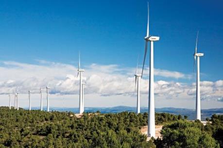 Khởi công Cụm trang trại điện gió hơn 8.900 tỷ đồng