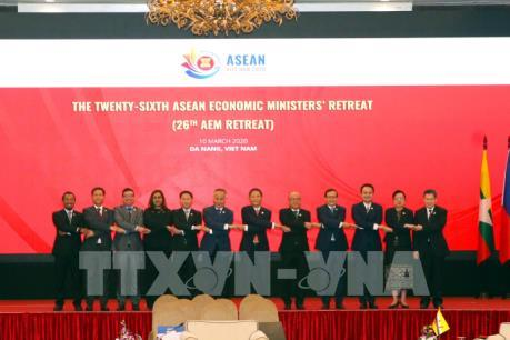 Tuyên bố chung tại hội nghị Bộ trưởng Kinh tế ASEAN (AEM) hẹp lần thứ 26