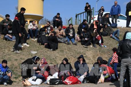 Khoảng 150.000 người di cư tìm cách tới Hy Lạp sau khi Thổ Nhĩ Kỳ mở biên giới