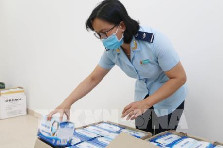 Trưng dụng khẩu trang y tế tịch thu từ buôn lậu phục vụ phòng, chống dịch
