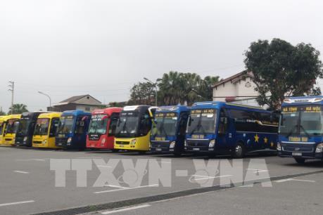 Nhiều nhà xe tuyến Hà Tĩnh - Hà Nội tạm dừng hoạt động