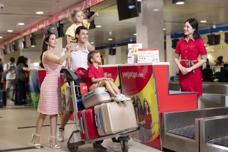 Vietjet Air giảm 70% giá vé nội địa và quốc tế