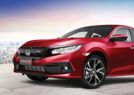 Honda Việt Nam bổ sung màu sơn mới cho phiên bản Civic RS