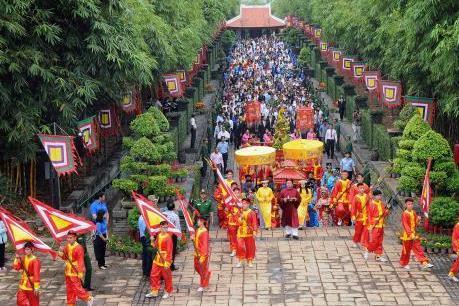 Giỗ Tổ Hùng Vương năm Canh Tý 2020 chỉ tổ chức ba lễ chính