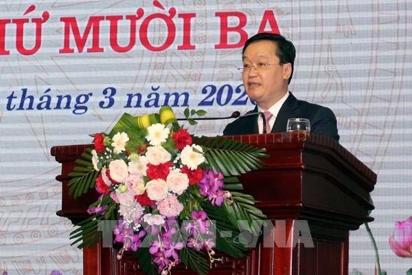 Đồng chí Nguyễn Đức Trung được bầu giữ chức Chủ tịch UBND tỉnh  Nghệ An