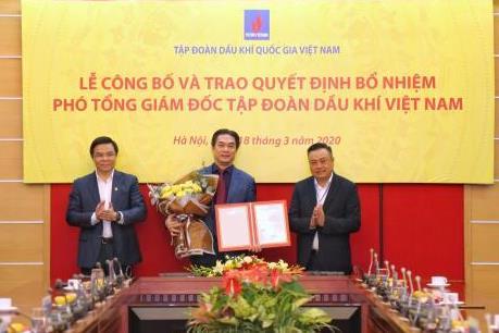 PVN bổ nhiệm thêm Phó Tổng giám đốc mới