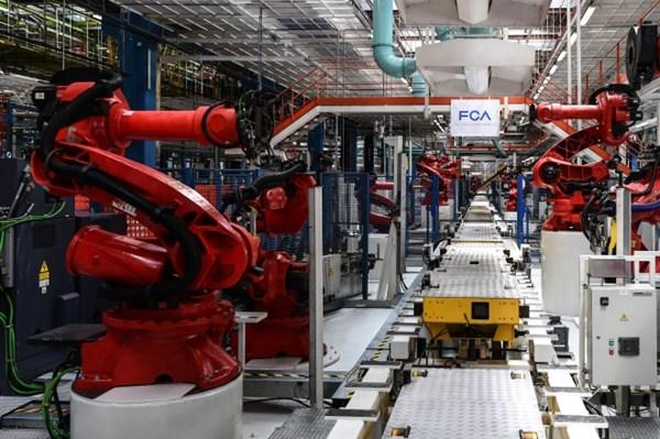Sản lượng công nghiệp của châu Âu tăng khởi sắc