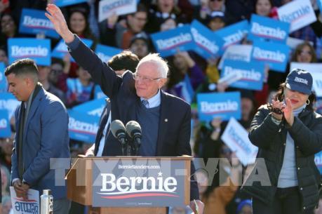 Bầu cử Mỹ 2020: Ứng cử viên Bernie Sanders bác tin chấm dứt chiến dịch tranh cử