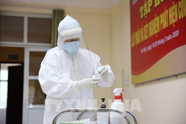 Dịch COVID-19: Việt Nam đã thực hiện xét nghiệm trên 15.000 mẫu bệnh phẩm