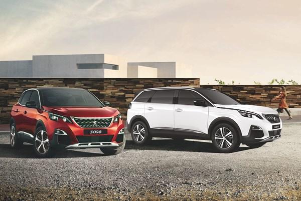 Thaco thêm 2 phiên bản mới của bộ đôi SUV Peugeot 3008 AT và 5008