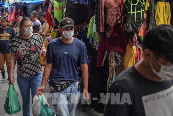 Kinh tế Brazil được dự báo giảm 5,66% năm 2020