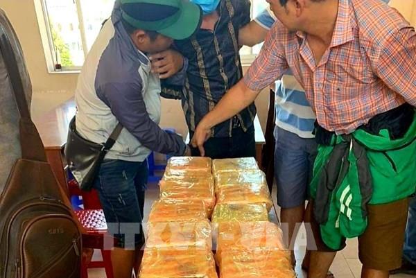 Tp Hồ Chí Minh triệt phá đường dây mua bán ma túy quy mô lớn