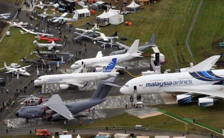 Dịch COVID-19: Triển lãm Hàng không quốc tế Farnborough bị hủy