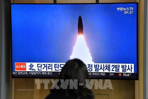 Hàn Quốc: Các vật thể trong vụ phóng mới nhất của Triều Tiên bay xa 410 km