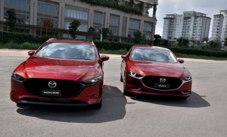 Việt Nam có 300 xe Mazda3 cần cập nhật hệ thống hỗ trợ phanh SBS