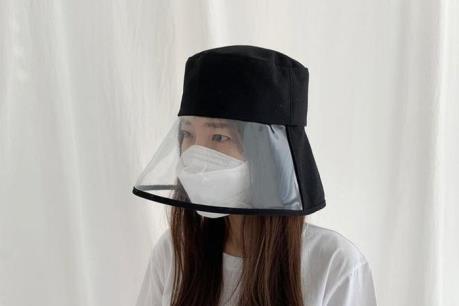 """""""Cháy"""" hàng mũ có kính bảo hộ phòng COVID-19"""
