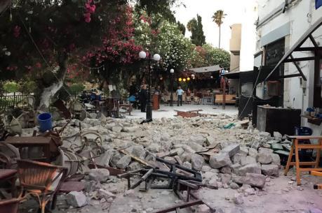 Động đất mạnh tại Hy Lạp
