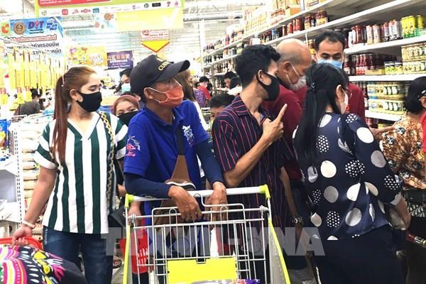 Số ca mắc COVID-19 tại Thái Lan tăng lên gần 600 ca