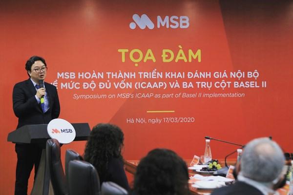 Ông Nguyễn Hoàng Linh chính thức trở thành Tổng giám đốc MSB