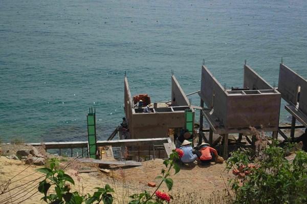 Buộc dừng và chưa được phép thi công ba dự án du lịch ven biển Quy Nhơn