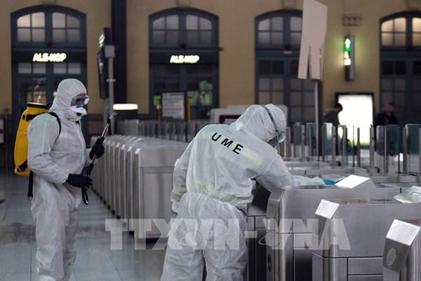 Kỷ lục mới về số người tử vong trong ngày của Tây Ban Nha