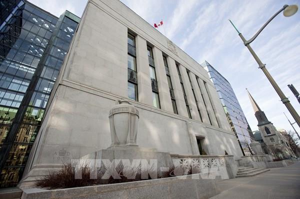 Ngân hàng trung ương Canada giảm lãi suất chủ chốt