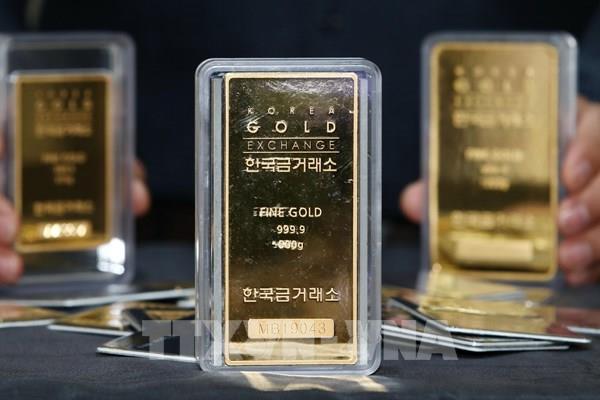 Giá vàng thế giới giảm nhẹ trong tuần giao dịch vừa qua