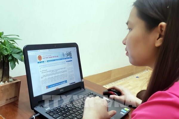 Hà Nội: Dù sắp hết hạn nhưng lượng người đến nộp hồ sơ quyết toán thuế rất ít
