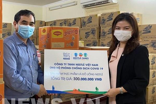 Nestlé Việt Nam hỗ trợ sản phẩm trị giá 3 tỷ cho công tác chống dịch Covid – 19