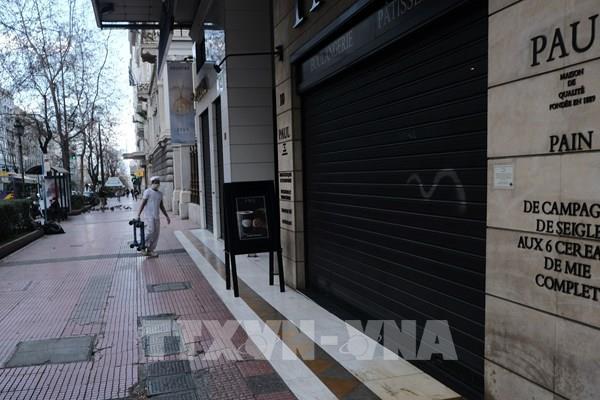 Dịch COVID-19: Số ca nhiễm tại Hy Lạp đã vượt 1.000 người
