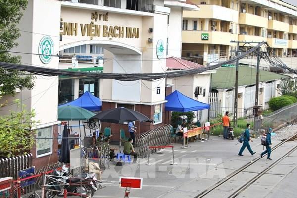 Hà Nội rà soát những người liên quan ổ dịch tại Bệnh viện Bạch Mai
