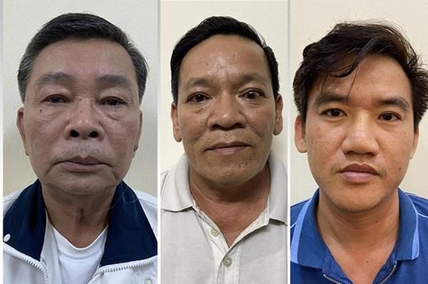 Bắt tạm giam Giám đốc và hai Phó Giám đốc Cty TNHH sản xuất Thương mại Thiên Phú
