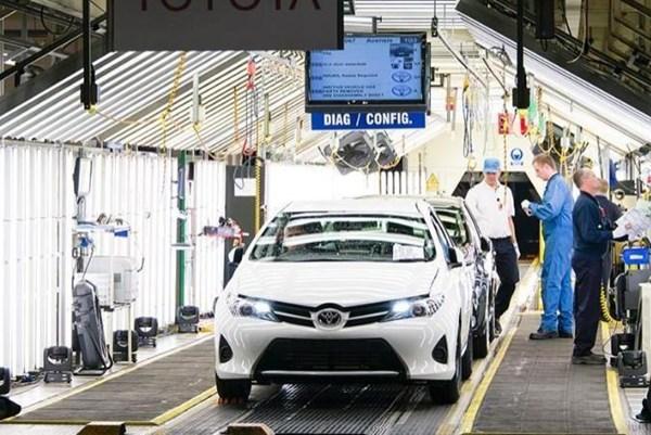 Sản lượng ô tô ở Anh có thể giảm gần 20% trong năm 2020