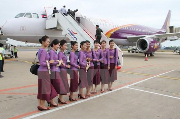 Chính phủ Campuchia quyết định giảm thuế trong ba tháng cho các công ty hàng không