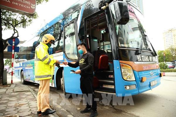 Hà Nội kiểm soát xe khách ra vào thành phố, phòng chống dịch COVID-19