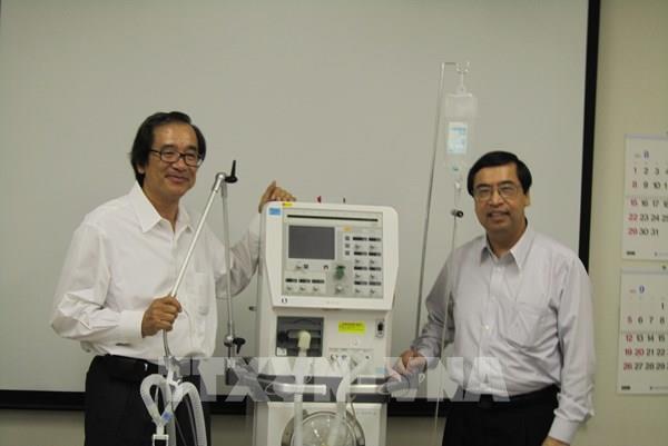 Metran dự kiến sẽ cung cấp cho thị trường Việt Nam 15.000 máy thở