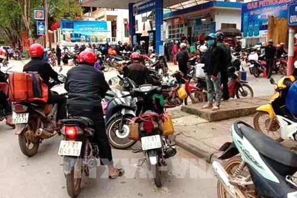 Hà Giang vận động người dân không tích trữ xăng dầu