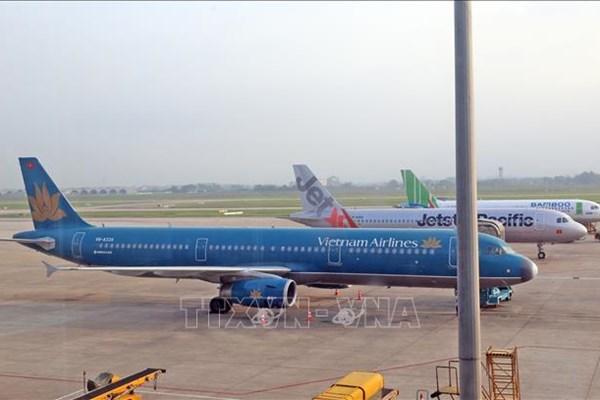 Từ 1/4, đường bay giữa Hà Nội và Tp. Hồ Chí Minh khai thác 2 chuyến khứ hồi/ngày
