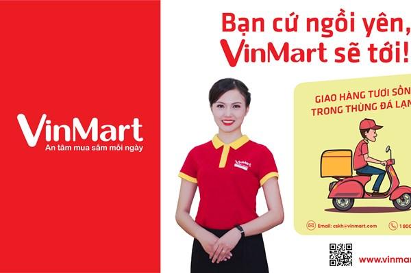 Hệ thống Vinmart triển khai bán hàng trực tuyến trong mùa dịch COVID-19