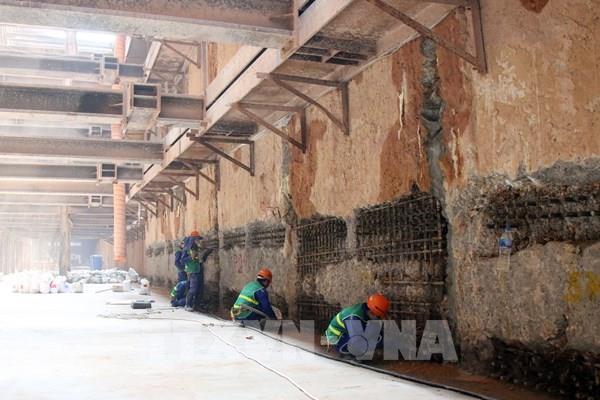 Tuyến metro số 1 Bến Thành – Suối Tiên đạt trên 71% khối lượng tổng thể