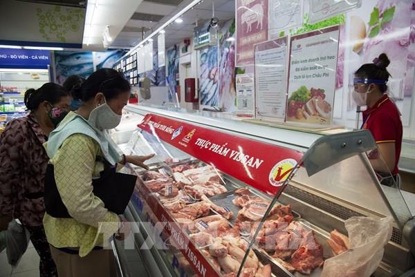 Kiên Giang: Giá thịt lợn chưa có dấu hiệu giảm