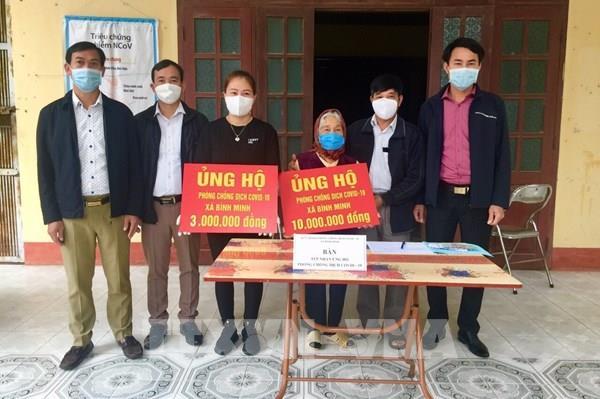 Cụ bà 87 tuổi ở Hưng Yên dành tiền trợ cấp ủng hộ phòng chống dịch COVID - 19
