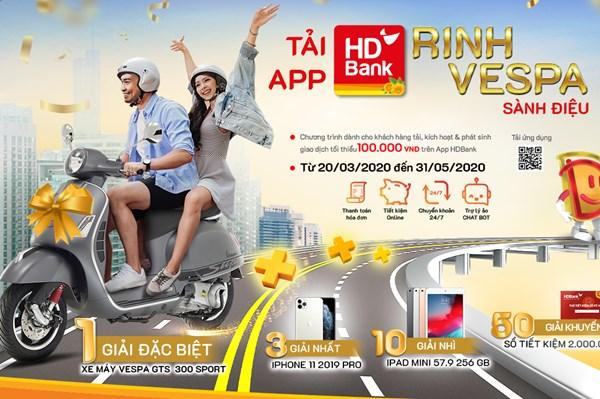 Trải nghiệm App HDBank lần đầu tiên với nhiều ưu đãi  hấp dẫn
