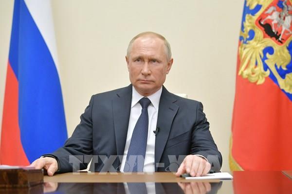 Tổng thống Nga Vladimir Putin và thông điệp mạnh mẽ chống dịch COVID-19