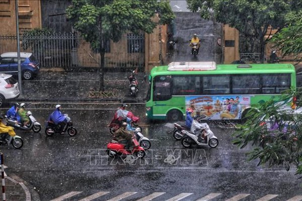 Dự báo thời tiết 3 ngày tới: Bắc Bộ có mưa dông diện rộng