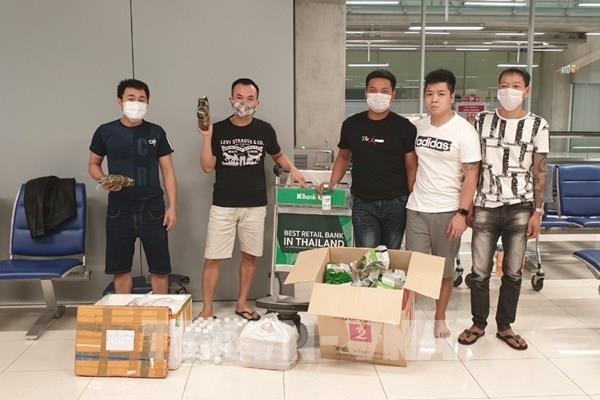 Hỗ trợ công dân Việt Nam bị mắc kẹt tại sân bay quốc tế Survanabhumi