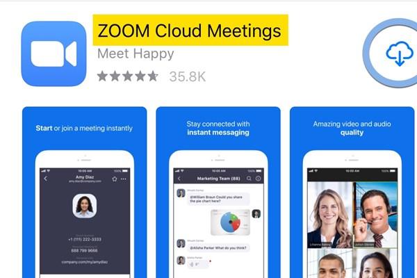 Cổ phiếu của ứng dụng họp trực tuyến Zoom giảm mạnh do lo ngại về bảo mật