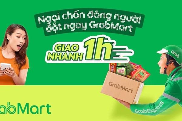 Dịch COVID-19: Grab thêm hàng loạt giải pháp mới hỗ trợ người dùng Việt